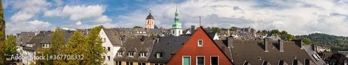 Panorama Siegen mit Krönchen Wallpaper Mural