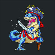 Dinosaur T Rex Pirate T Jolly ...