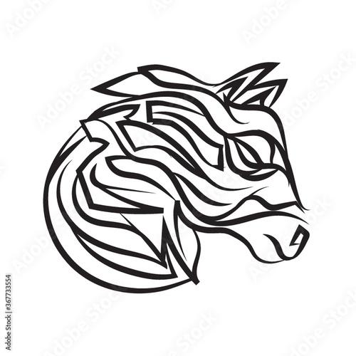 Fototapety, obrazy: horse tattoo