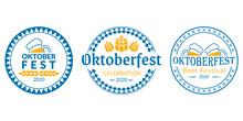 Oktoberfest Logo, Badge Or Lab...