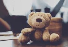 Soft Focus Of Cute Little Bear...