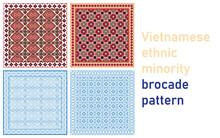 Vietnamese Brocade Pattern (3)
