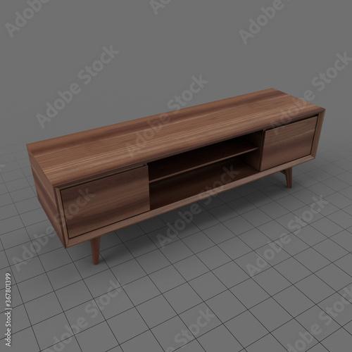 Obraz Modern television stand 2 - fototapety do salonu