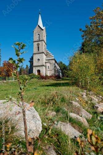 Fotografie, Obraz Kościół w Szklarskiej Porębie