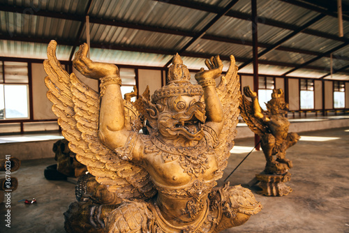 Fotografie, Tablou Garuda statue in Phuket, Thailand