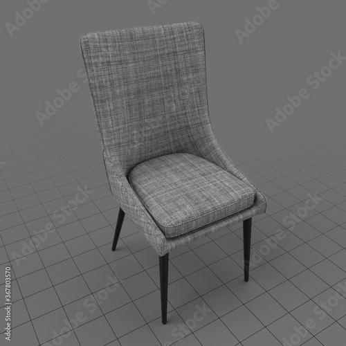 Obraz Modern chair 1 - fototapety do salonu