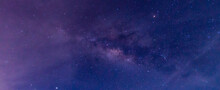 Amazing Panorama Blue Night Sk...