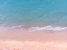 Blue Sea And White Sand Beach ...