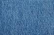 canvas print picture - Denim blue jeans texture close up background top view