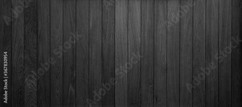 Fototapeta black wood plank texture background obraz na płótnie