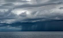 Heavy Rainy Clouds Pouring Rai...
