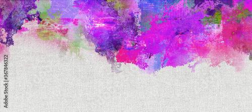 texturen farben pink lila violett leinwand banner