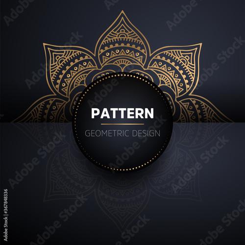 Foto luxury ornamental mandala design background