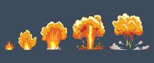 Cartoon Explosion Effect With ...