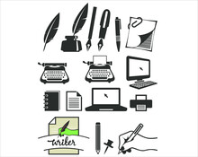 A Vector/icon Collection For Writers.