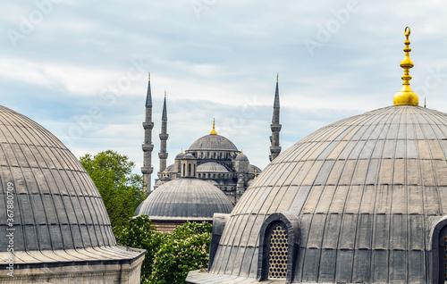Hagia Sophia Cupola dome semi-dome and apse Wallpaper Mural