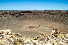Meteor Crater View, Arizona, USA
