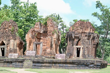 Ancient Khmer Castle At Prangk...