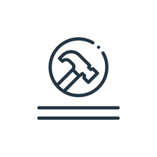 Durable Icon Vector From Fabric Features Concept. Thin Line Illustration Of Durable Editable Stroke. Durable Linear Sign For Use On Web And Mobile Apps, Logo, Print Media.