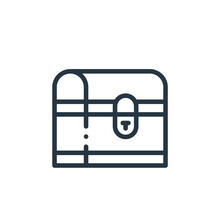 Chest Icon Vector From Magic C...