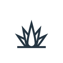 Agave Icon Vector From Cinco D...