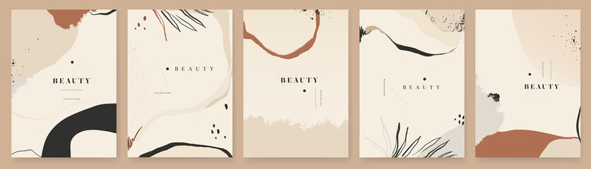 Abstract trendy universal artistic background templates. Good for cover, invitation, banner, placard, brochure, poster, card, flyer and other.
