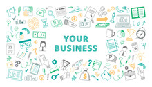 Handdrawn Your Business Sketch...