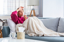 Woman Caught Cold Having Fever...