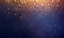 Damask Pattern Old Wallpaper D...