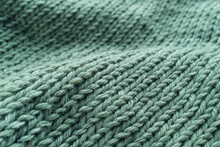Part Of A Knitted Project, Swe...