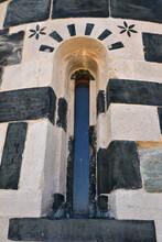 Fenêtre Décorée De L'église Romane San Michele De Murato, Corse