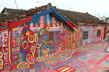 Rainbow Village In Taichung, T...
