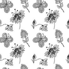Graphic Vintage Pattern