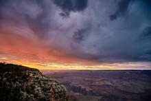 Beautiful Scenery Of A Canyon ...