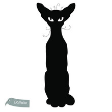 Cat Illustration. Vector. Tota...