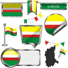 Flag Of Lubusz, Poland