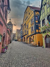 Traditionals Houses Of Alsace....