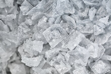Close Up Of Salt Flakes