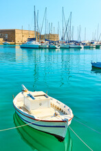 Fishing Boat In The Harbour Ne...