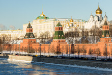 The Moscow Kremlin.  Cathedral...