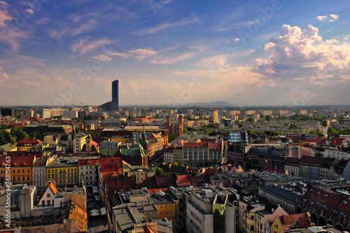 Fototapeta Starówka miasta Wrocławia Polska obraz