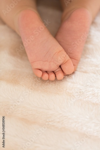 Closeup of Baby's Feet