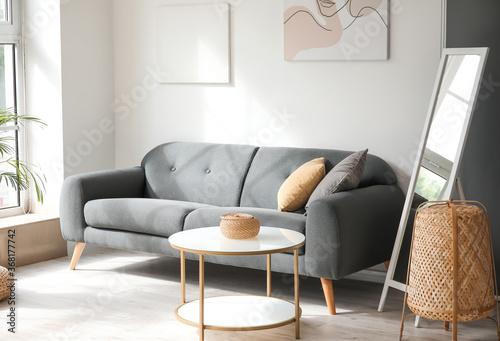Fototapeta Interior of beautiful stylish room obraz