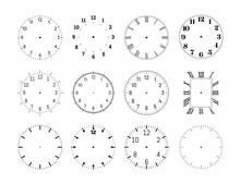 Mechanical Clock Face Dials Te...