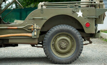 Details Of Antique Military Vehicle