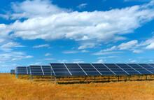 Solar Power Plant, Blue Solar ...