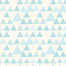 Cute Triangle Seamless Pattern...