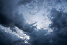 Dark Thunderclouds In The Sky.