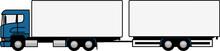 Truck Towing A Trailer - Truck...
