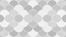 Gray Grey White Seamless Grunge Abstract Mermaid Scales Pattern Mosaic Tiles Texture Background
